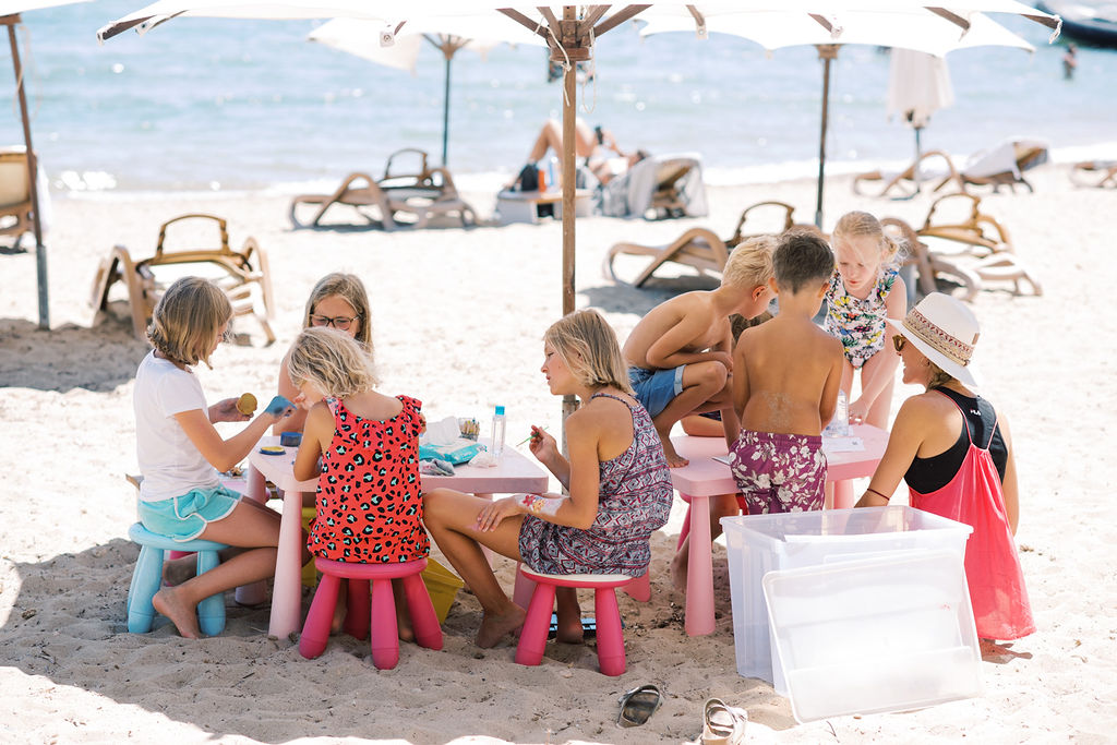 Kids in Ibiza at Pura Vida Beach Restaurant 2